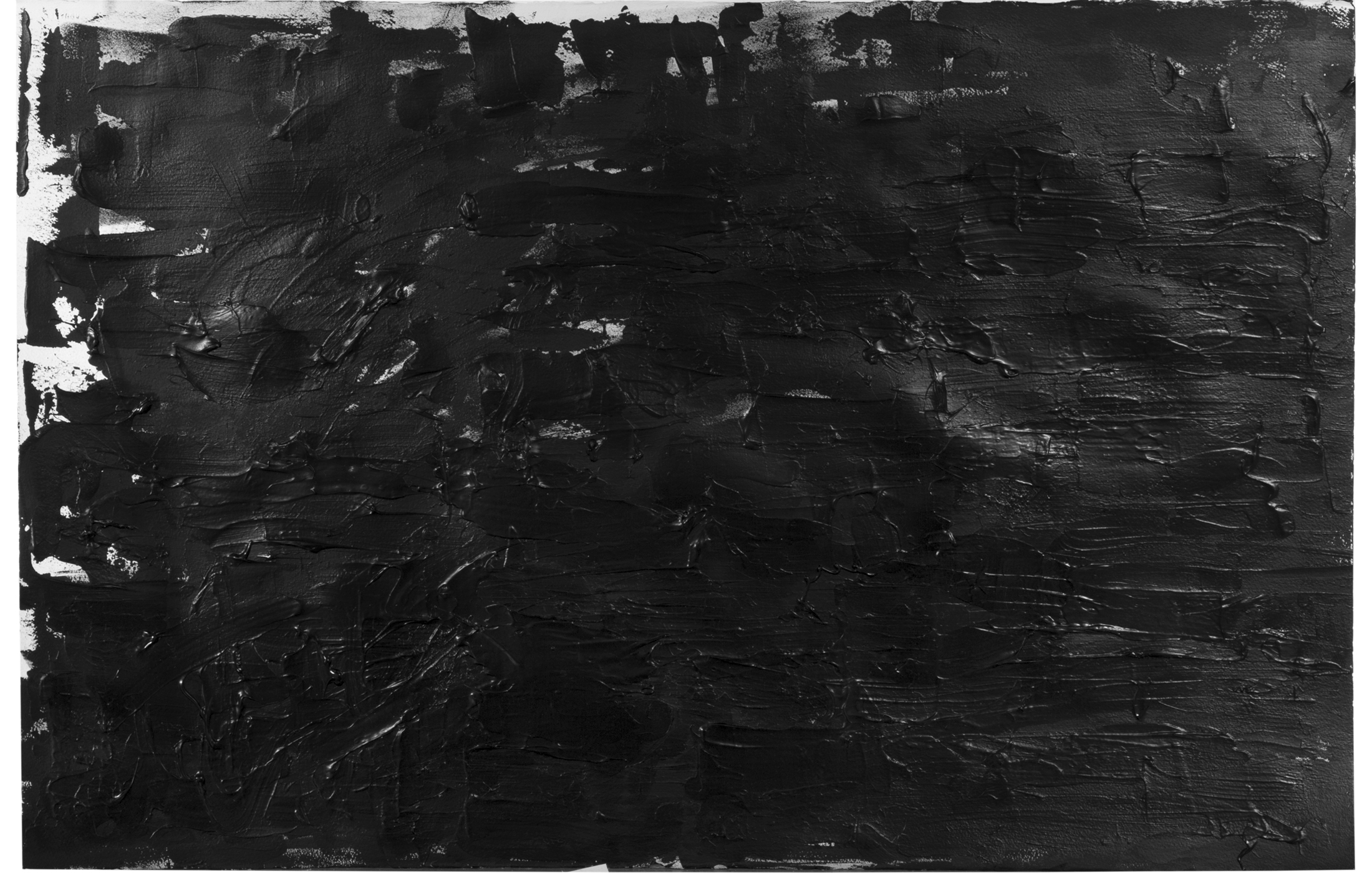 Agathe Toman Somewhere Darker abstract art painting