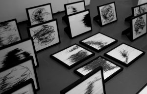 Agathe Toman Existence contemporary art drawing
