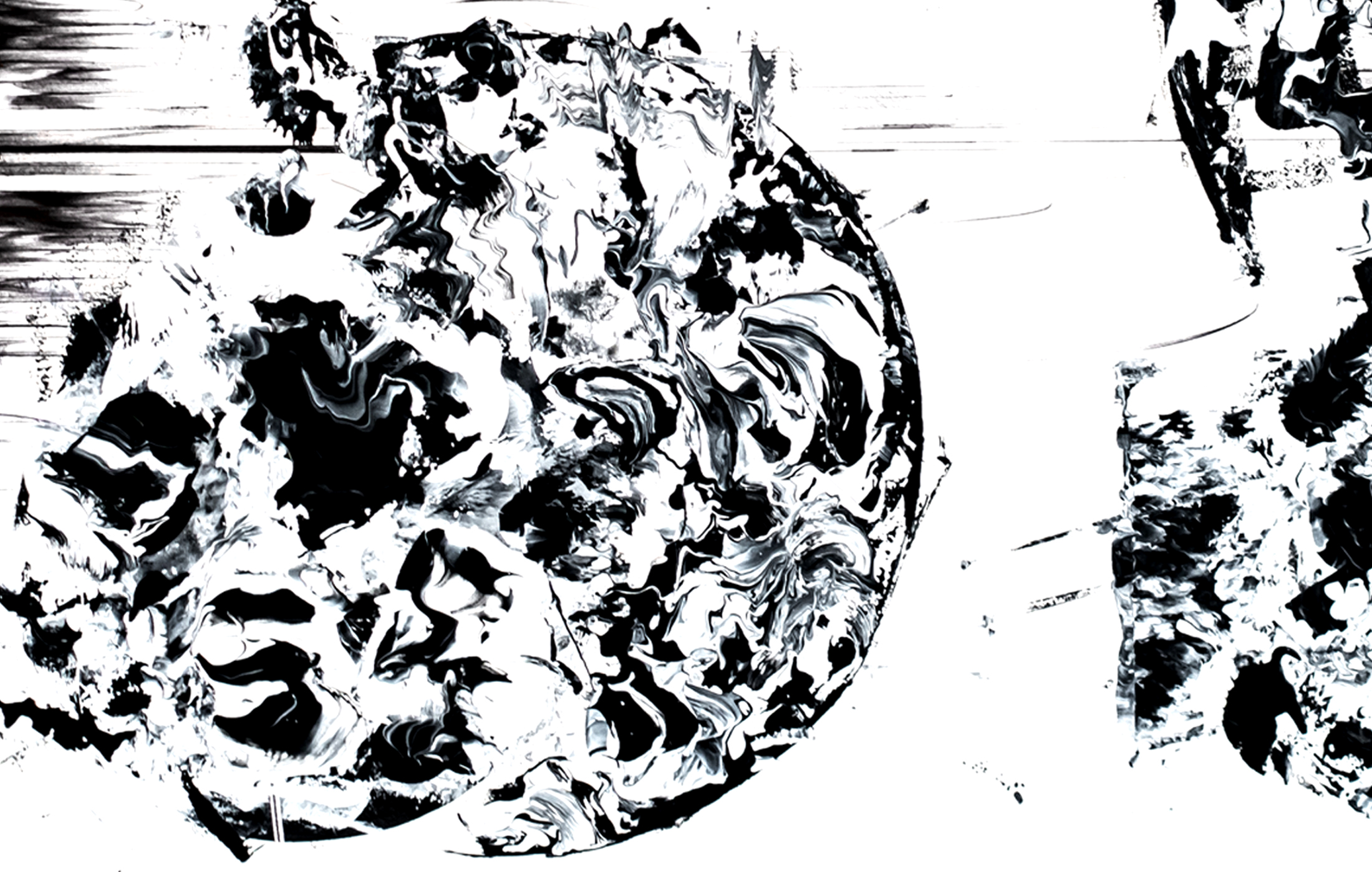 Agathe Toman Et Toi Art Drawing Painting Drawing Abstract Black And White Bic Paint Contemporary
