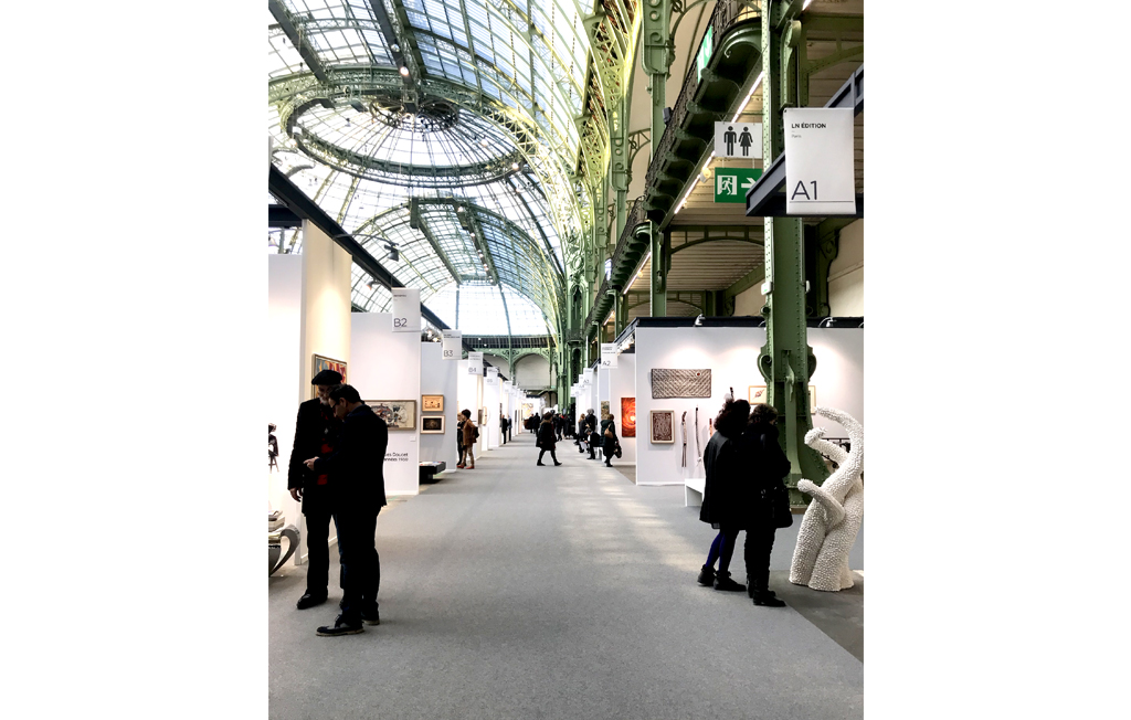Agathe Toman Art Paris Art Fair 2019 Exhibition Gallery