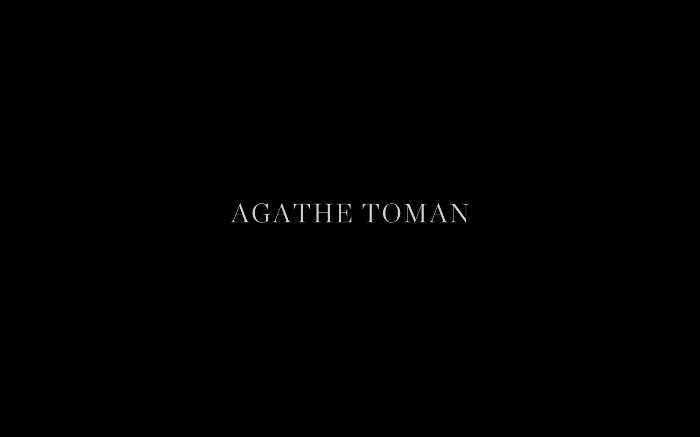 Agathe Toman Video Trailer De Anima Claudia Lederer