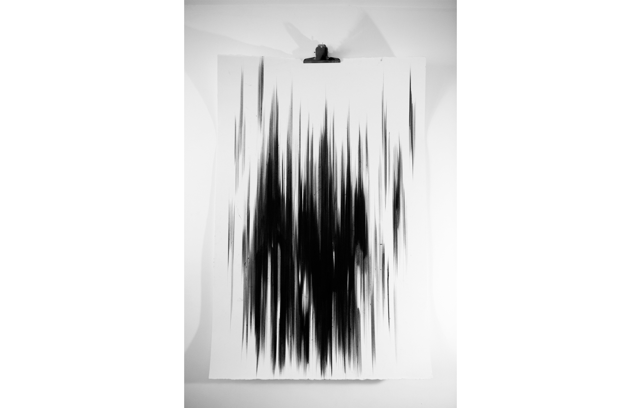 Agathe Toman Fated Marilyn Manson Art Contemporary Artist french paris biarritz drawing draw black white fine abstract bic velin arches dessin contemporain los angeles california