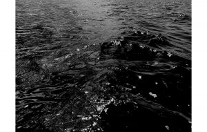 Agathe Toman_SEE #00 photography black and white water galerie anne claire simin château de lantheuil corpus animae exposition exhibition gallery France normandie abstract contemporary contemporain abstrait reversed landscape wave see ocean lights