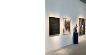 Agathe Toman Sotheby's Contemporary Curated Paris July 2021 Exhibition Gallery Auction Sale Abstract Art Contemporary Black Monochrome Noir Abstrait Contemporain Dessin Drawing Artwork Artist French Arts Art